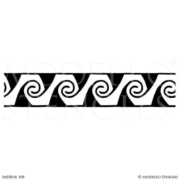 Tribal clipart borders png freeuse stock IndBor108 png freeuse stock