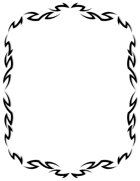 Tribal clipart borders clip art stock Pin by Muse Printables on Page Borders and Border Clip Art ... clip art stock