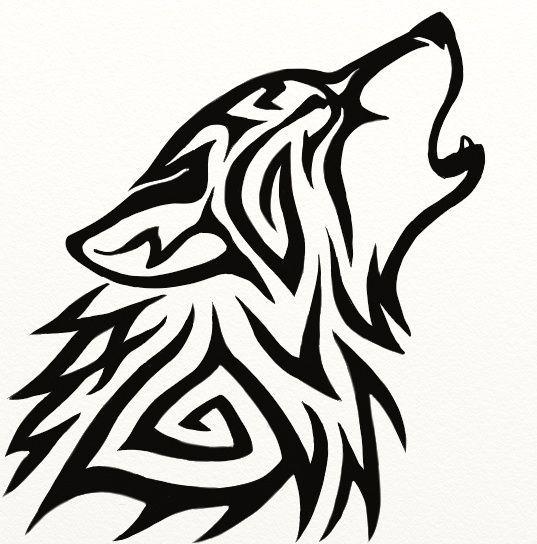 Tribal wolf clipart » Clipart Portal jpg freeuse