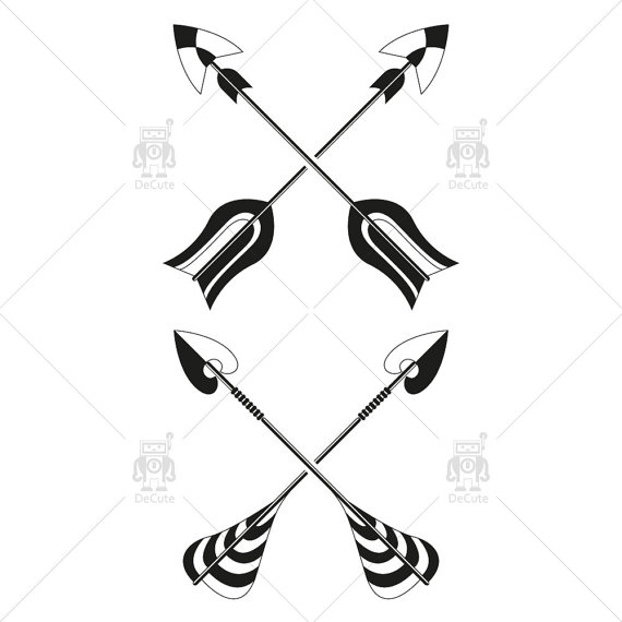 Tribal cross arrow clipart jpg library Tribal cross arrow clipart - ClipartFest jpg library