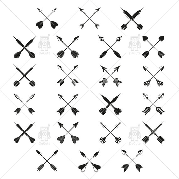 Tribal cross arrow clipart jpg black and white download Tribal cross arrow clipart - ClipartFest jpg black and white download