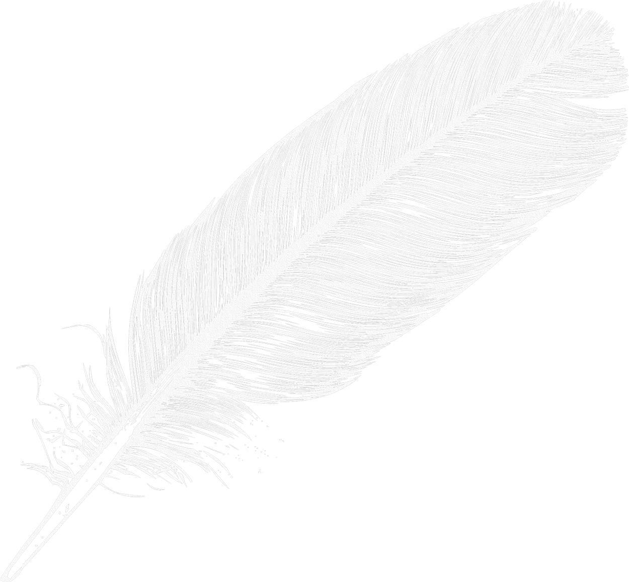 HD Large White Transparent Feather Png Clipart - White ... clip download