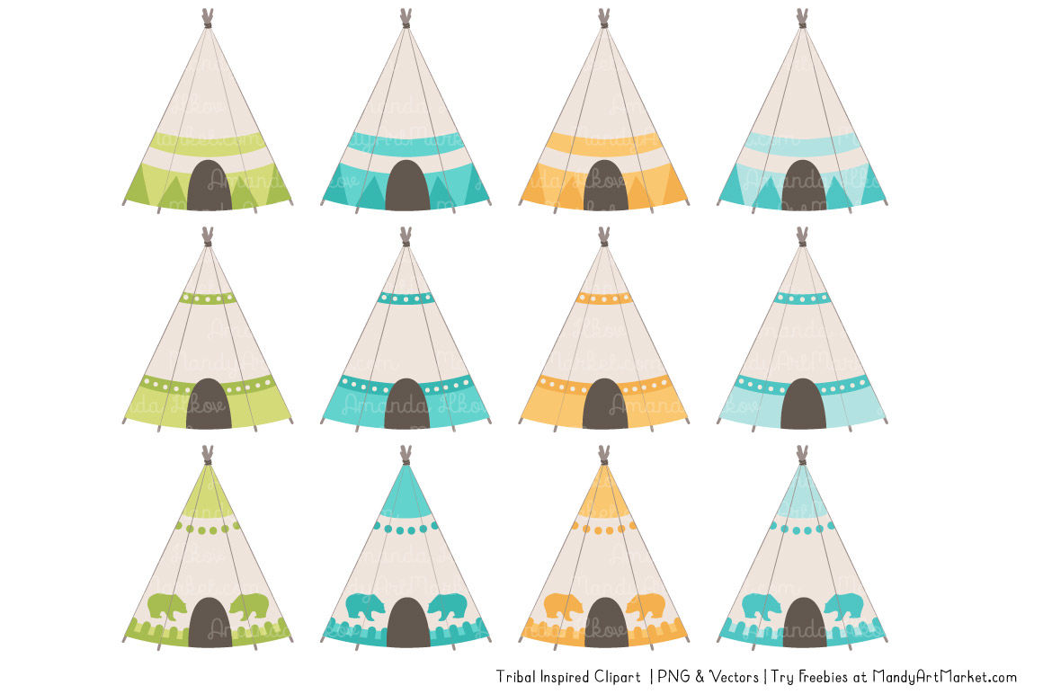 Tribal land clipart clip art stock Tribal Clipart Collection in Land & Sea By Amanda Ilkov ... clip art stock
