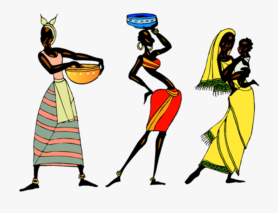 Tribal people clipart clipart library stock Woman Ethic African People Collage Tribe Tribal - African ... clipart library stock