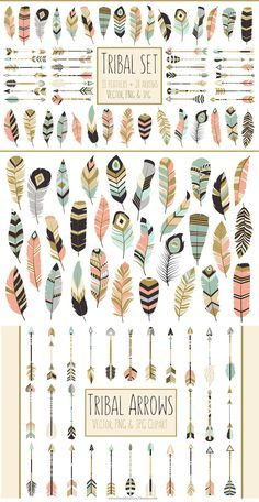 Tribal print arrow clipart graphic library library Welcome To Our Tribe Print » Arrow Print » Tribal Printable ... graphic library library