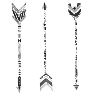 Tribal print arrow clipart svg library library Tribal print arrow clipart - ClipartFest svg library library