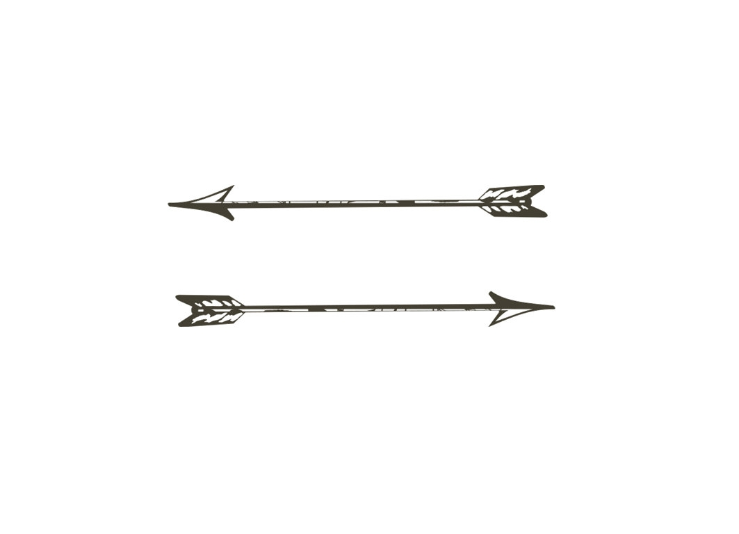 Tribal single arrow clipart clipart freeuse Tribal Arrow Clipart Black And White Single - clipartsgram.com clipart freeuse