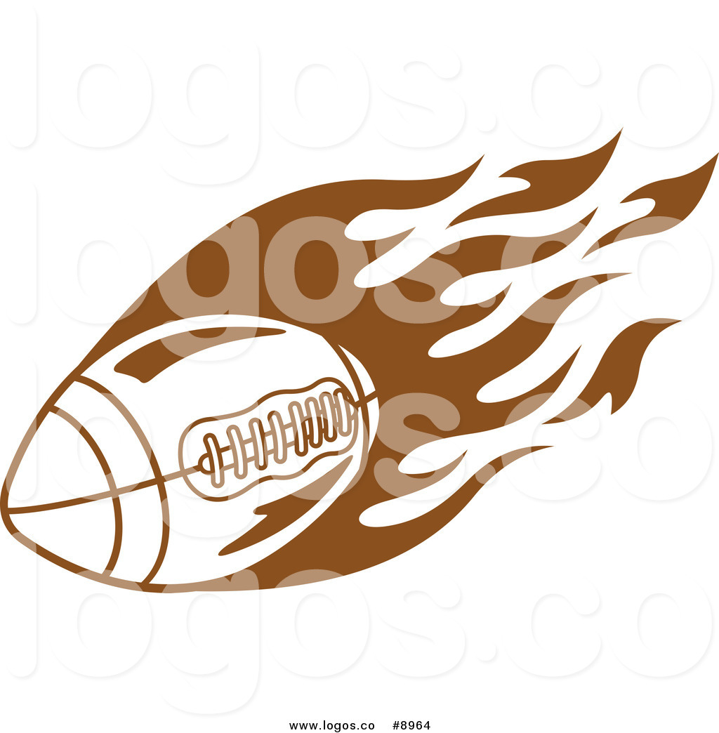 Royalty Free Clip Art Vector Sports Logo of a Brown American ... banner download