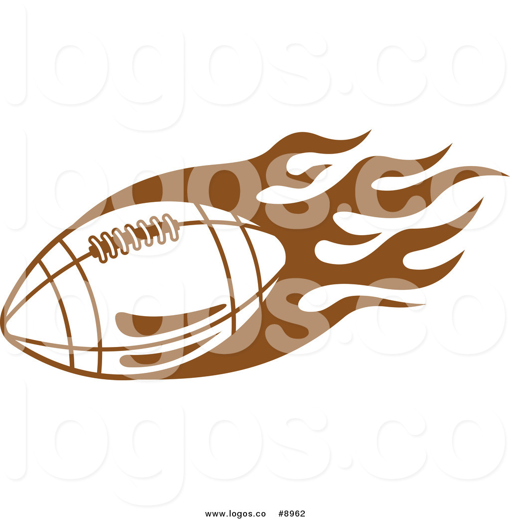 Royalty Free Clip Art Vector Sports Logo of a Flying Brown ... svg royalty free download