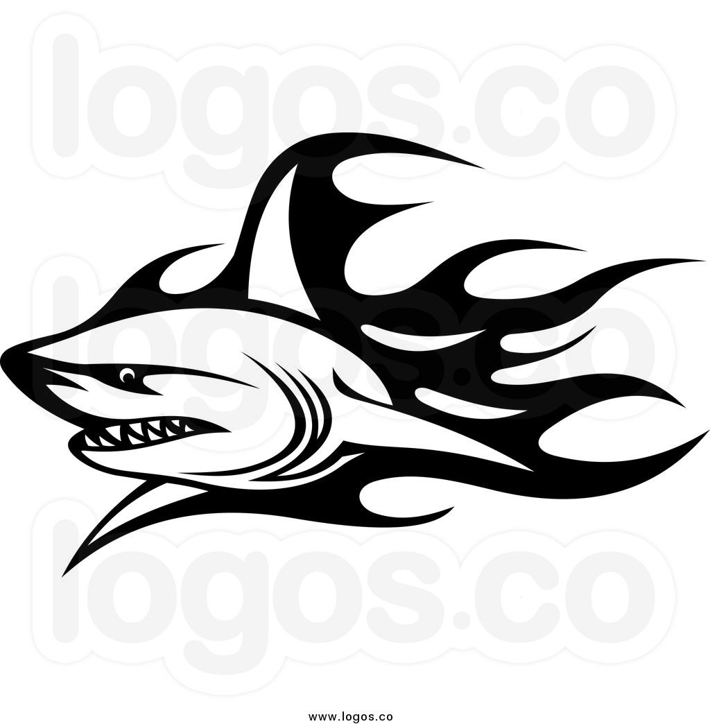 Royalty Free Clip Art Vector Logo of a Black and White ... jpg black and white library