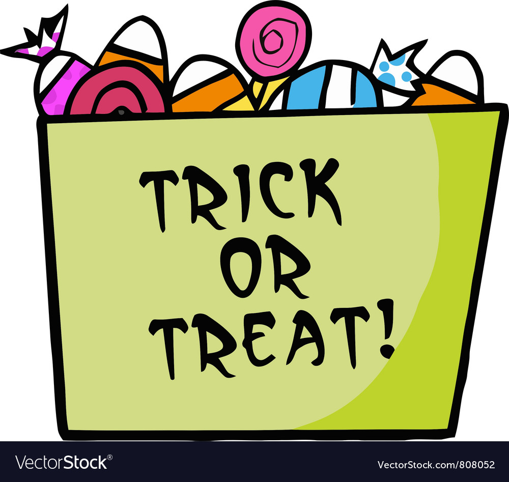 Trick or treat candy clipart graphic royalty free stock Green Trick Or Treat Bucket Of Candy graphic royalty free stock