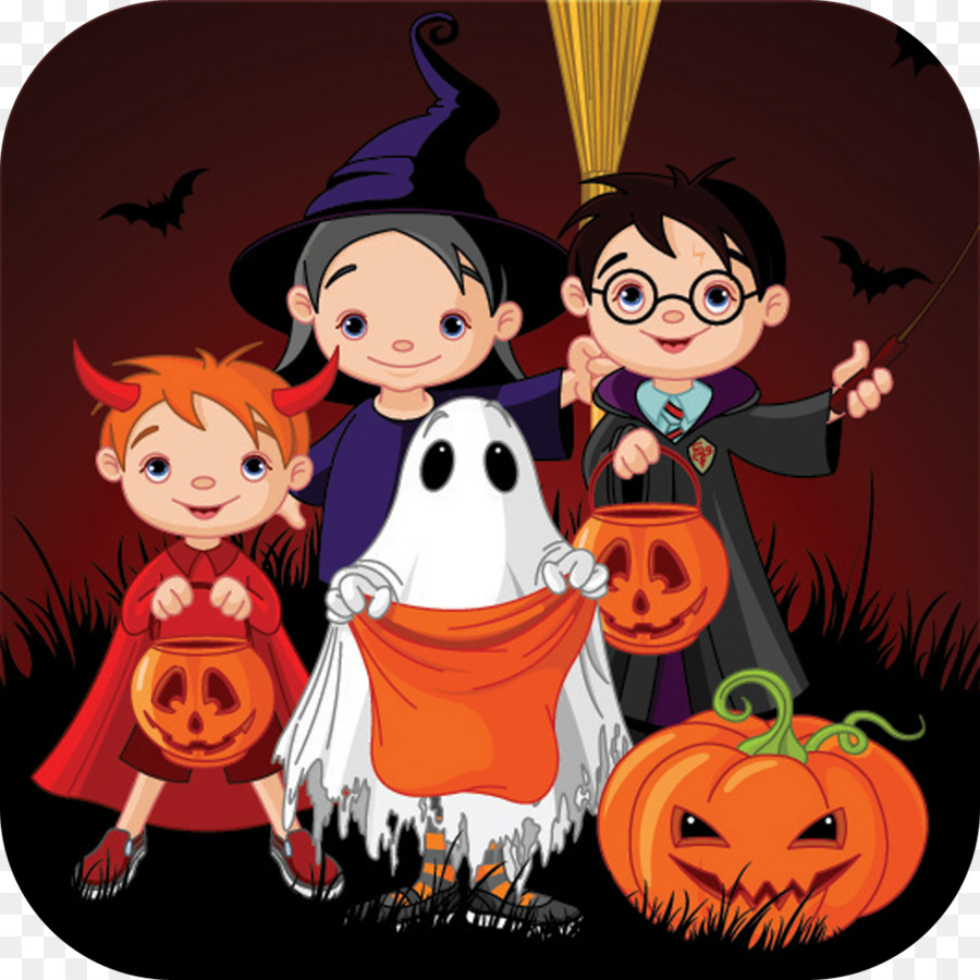 Halloween, Illustration, Cartoon, transparent png image ... clip freeuse library