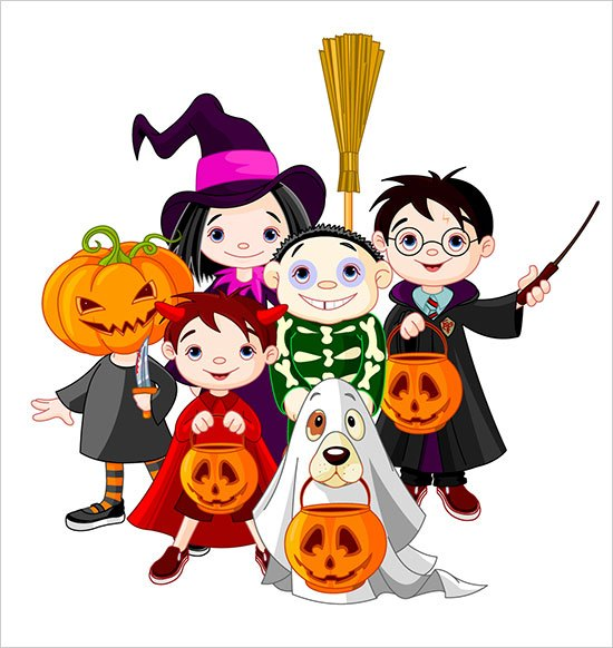 Trick Or Treating Clipart | Free download best Trick Or ... clipart royalty free
