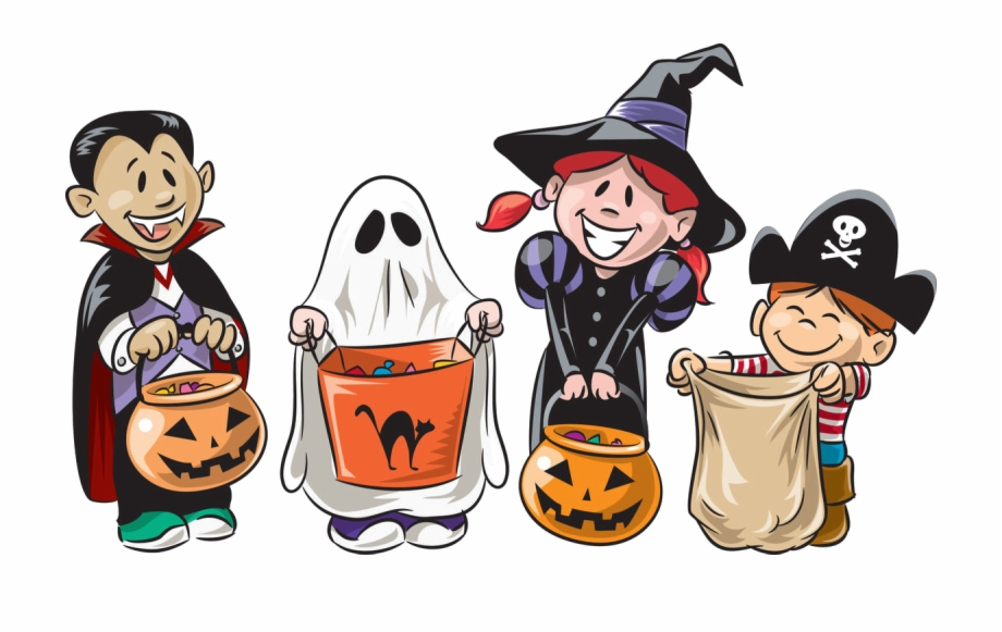 Trick Or Treat Png Image Transparent - Cartoon Trick Or ... clip