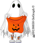Trick or treat free clipart jpg royalty free stock Trick Or Treat Clip Art - Royalty Free - GoGraph jpg royalty free stock