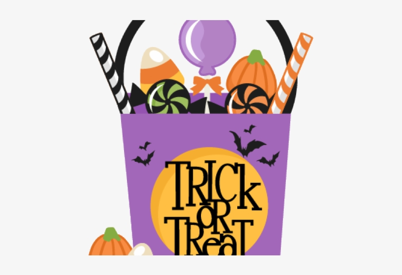 Trick Or Treat Clipart Halloween Candy Bag - Trick Or Treat ... clip art library
