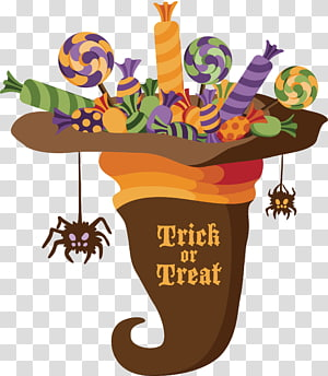 Trick treat clipart picture black and white library Halloween Trick-or-treating Jack-o\\\'-lantern Icon, trick,or ... picture black and white library