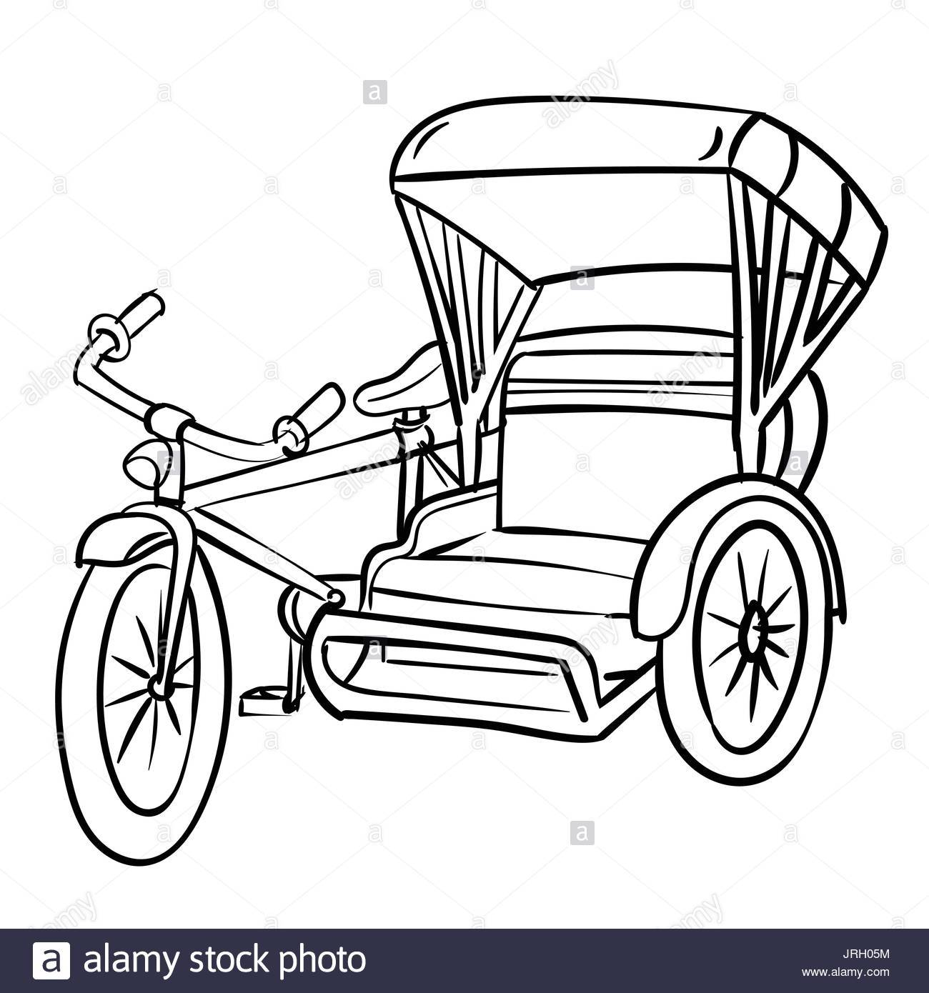 Philippine tricycle clipart black and white 6 » Clipart Portal picture freeuse download