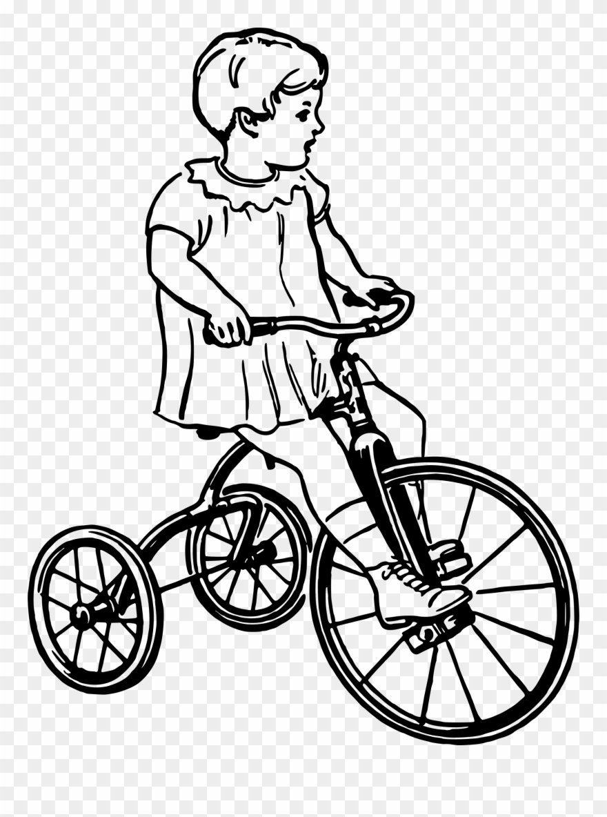 Cycling Clipart Tricycle - Tricycle - Png Download (#883943 ... picture royalty free download