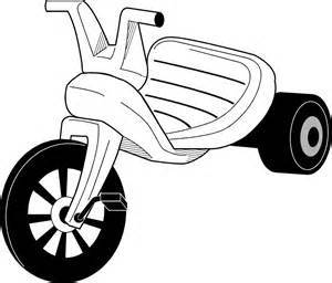 Tricycle clipart black and white » Clipart Portal freeuse stock
