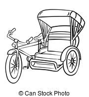 Philippine tricycle clipart black and white » Clipart Portal graphic royalty free