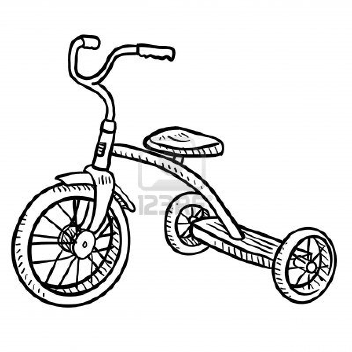 Stock Photo | Artisticly Inclined | Tricycle images ... clipart royalty free stock