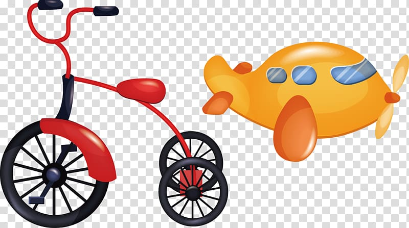 Tricylces and play cars clipart royalty free library Motorized tricycle Bicycle , kids toys transparent ... royalty free library