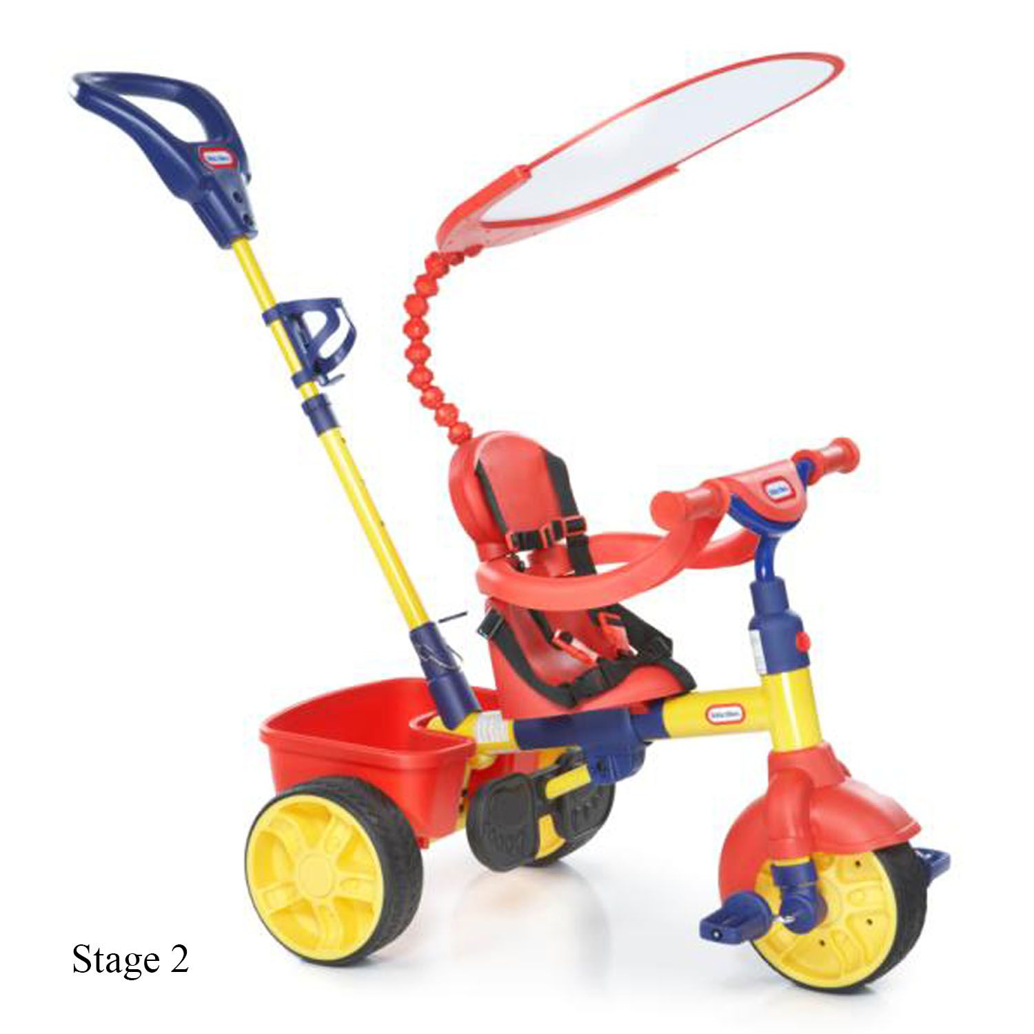 Tricylces and play cars clipart clip 4-in-1 Trike - Primary clip