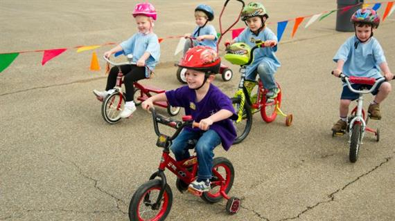 7 Steps to Hosting a St. Jude Trike-A-Thon for Pre-K or ... clip royalty free download