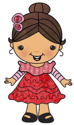 Triny little girl girl clipart clip freeuse mexican girl FG small | ❀♔ My Beautiful Daughter ... clip freeuse