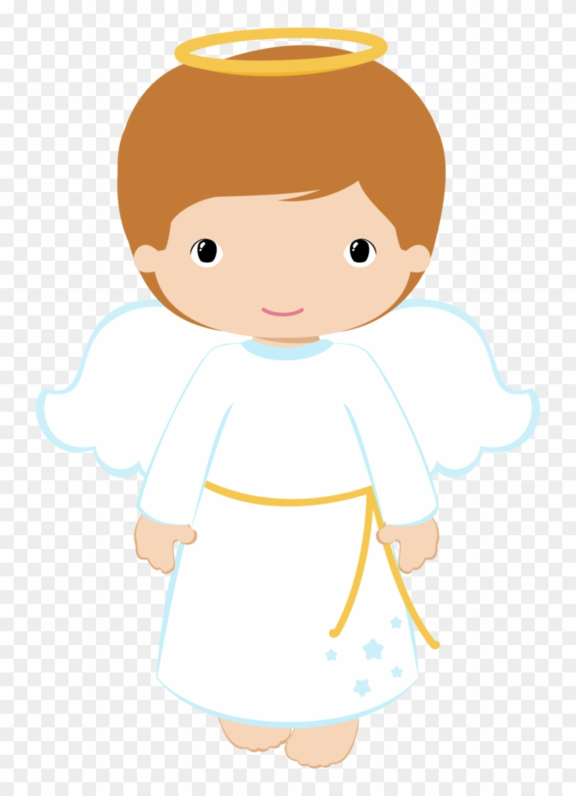 Trio of child angels clipart clip free library 736 X 1080 7 - Boy Angel Clip Art, HD Png Download ... clip free library