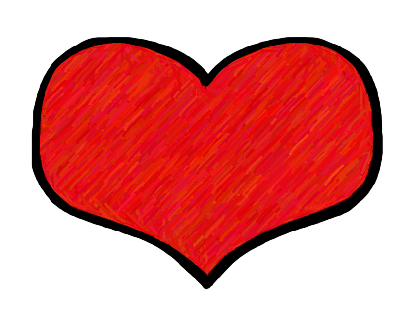 Triple heart clipart image stock Best Heart Clipart #14194 - Clipartion.com image stock
