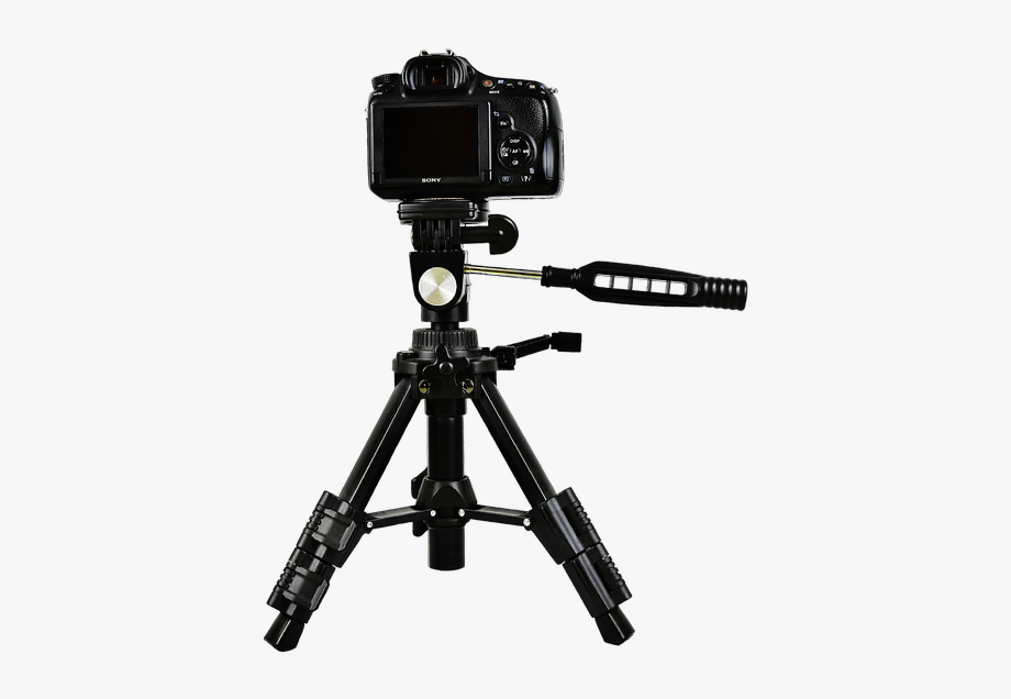 Tripod clipart png freeuse ftestickers #photography #camera #tripod #sony - Camera On ... png freeuse