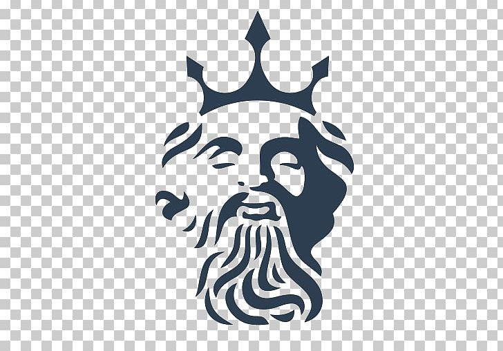 Poseidon Logo Triton PNG, Clipart, Apk, App, Art, Black And ... clip art black and white download