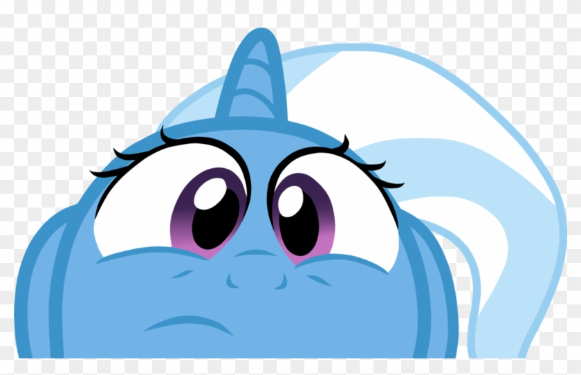 Trixie clipart jpg download Trixie My Little Pony Vector - Mlp Trixie Face - Free ... jpg download