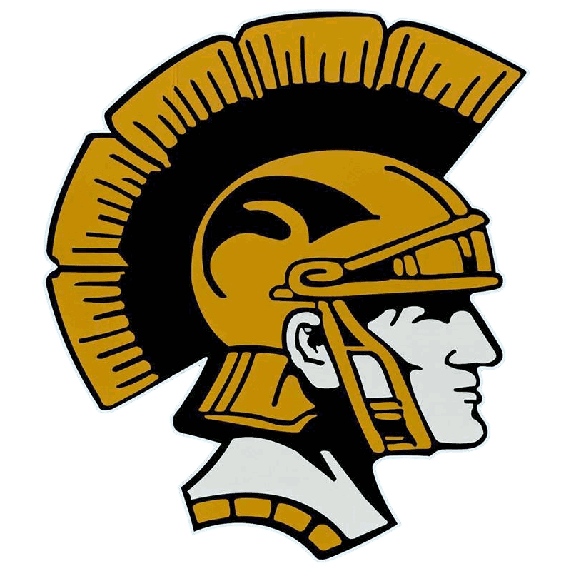 Trojan basketball clipart clip black and white stock Athletics - Tri-Center Community School District clip black and white stock
