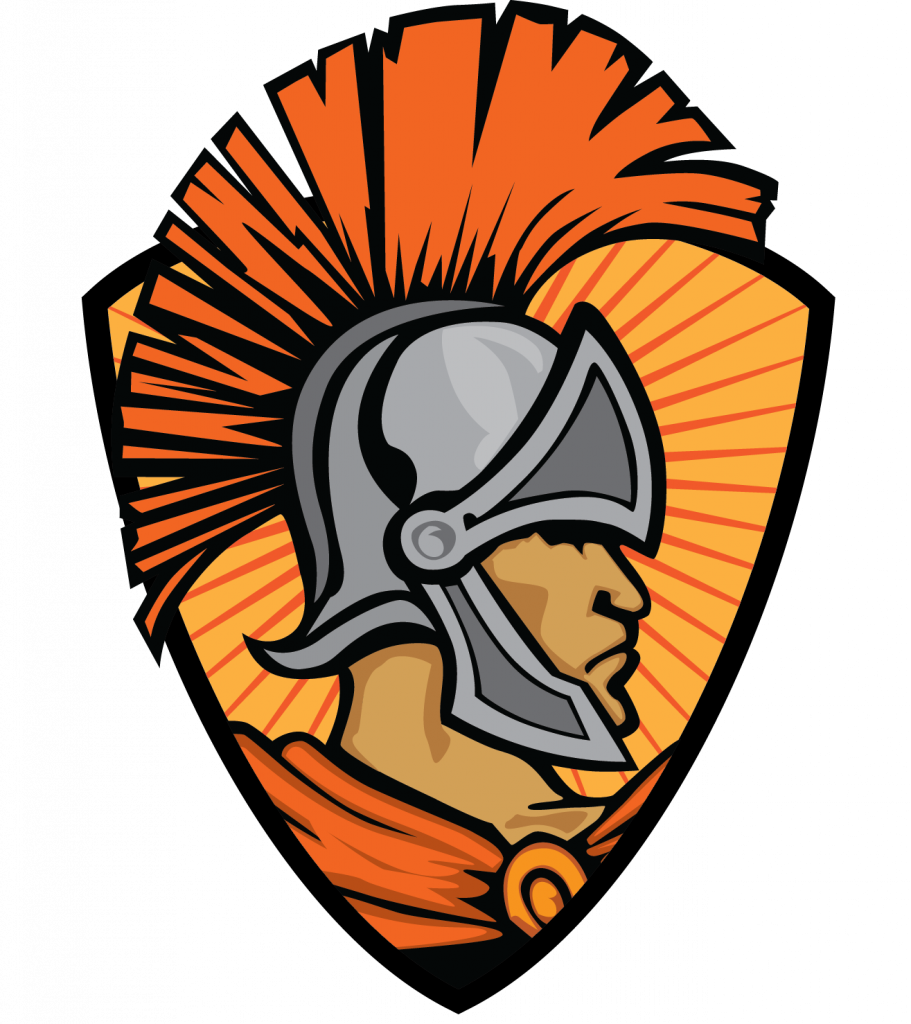 Trojan basketball clipart image black and white download The Elmwood Trojans Boys Basketball Team Win Hometown Heroes Of The ... image black and white download