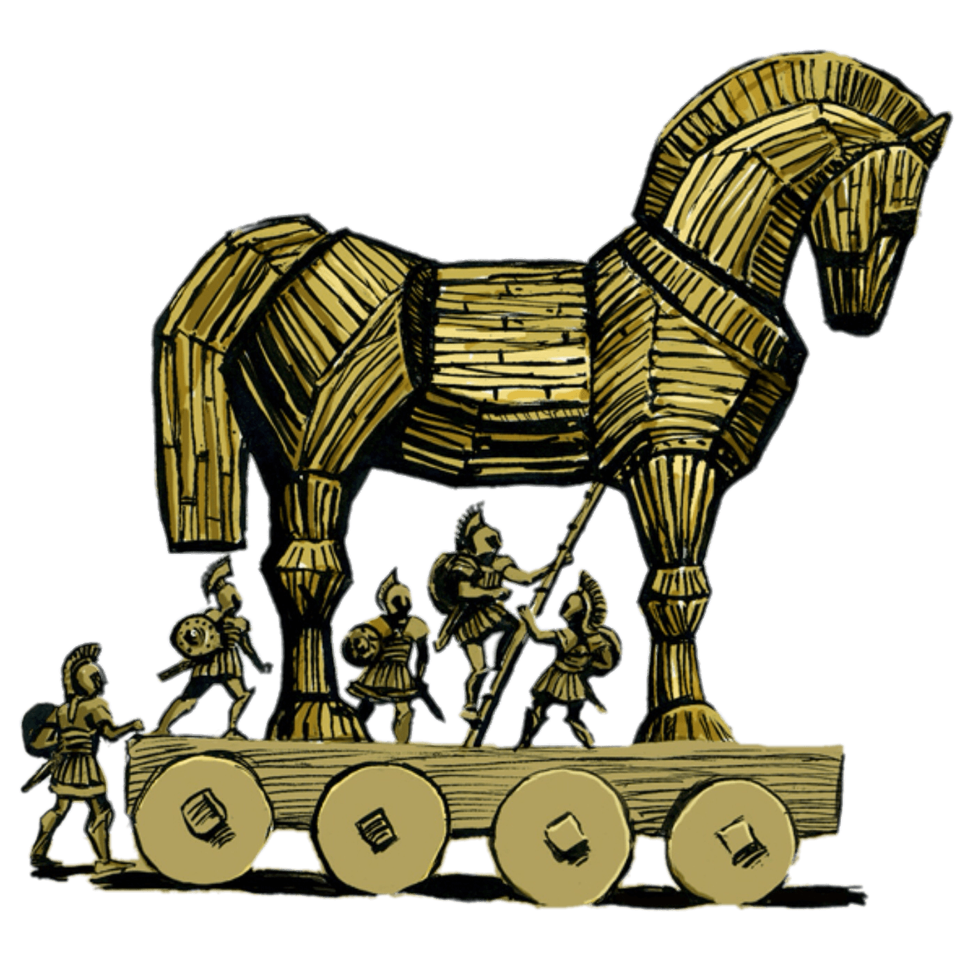 Trojan horse clipart free vector library stock Trojan Horse Png & Free Trojan Horse.png Transparent Images ... vector library stock