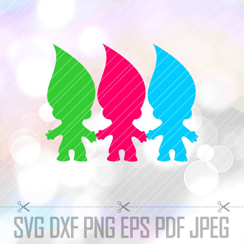 Troll doll black and white clipart silluette picture library library Image result for trolls silhouette | Embrodiery & Silhouette ... picture library library