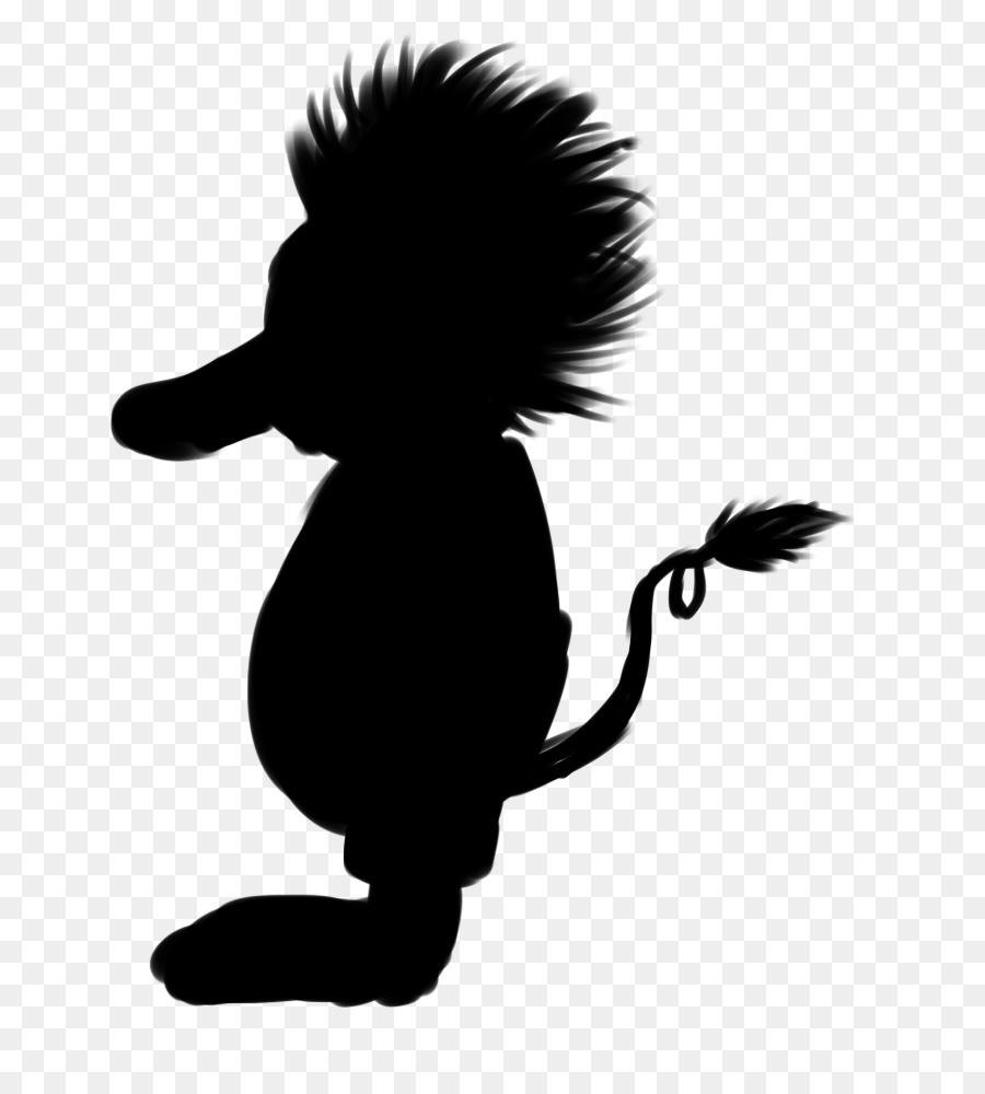 Troll doll black and white clipart silluette picture transparent stock Bird Silhouette png download - 750*988 - Free Transparent ... picture transparent stock