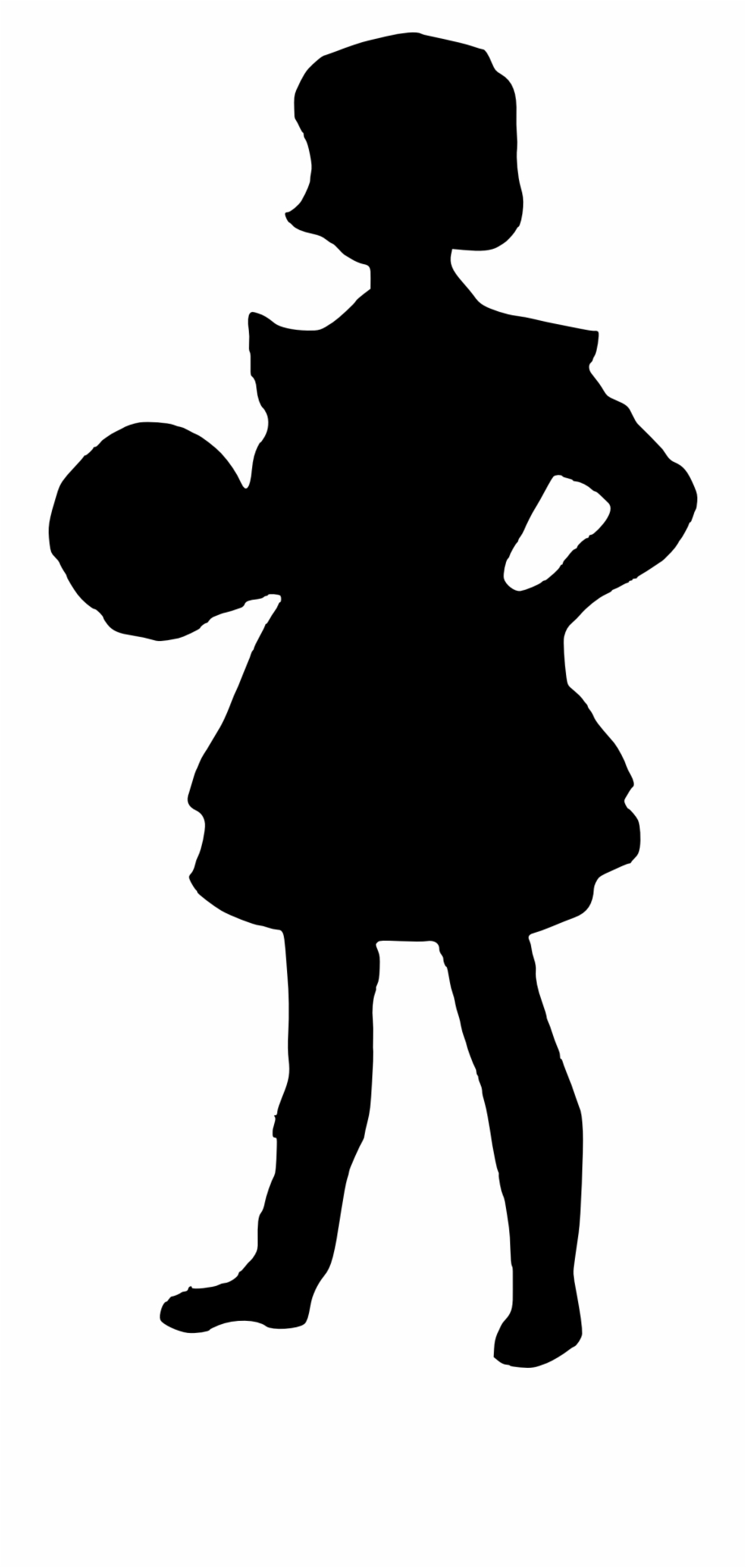 Troll doll black and white clipart silluette jpg library Free Download - Troll Kids Silhouette, Transparent Png ... jpg library