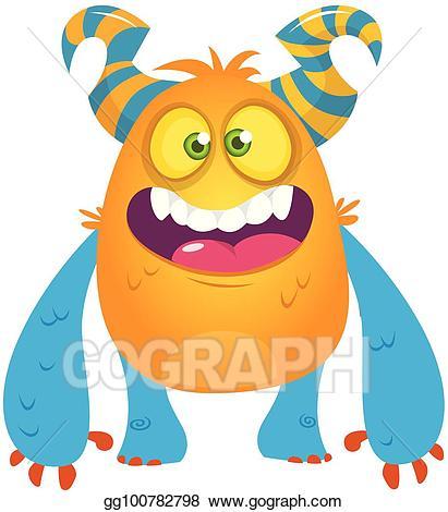 Troll halloween clipart clipart freeuse library EPS Vector - Cute cartoon monster. vector troll or gremlin ... clipart freeuse library