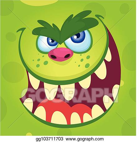 Troll halloween clipart png freeuse Vector Clipart - Halloween illustration goblin or troll ... png freeuse