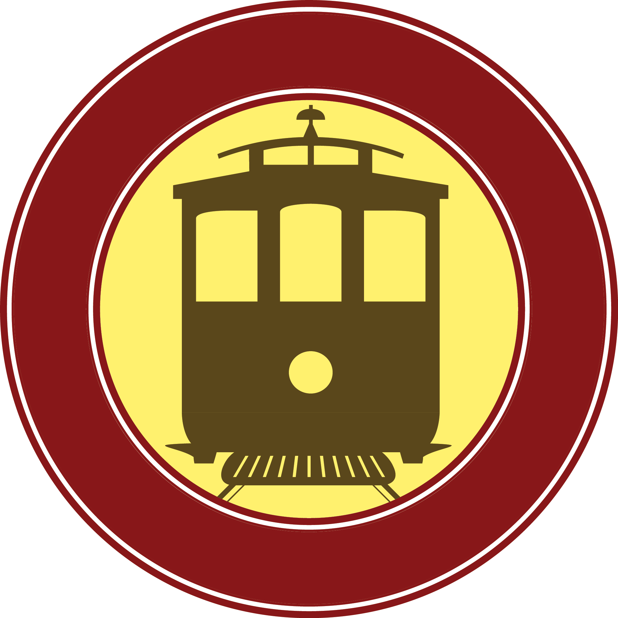 Trolley car clipart image royalty free stock Trolley Car Clipart 36557 | LOADTVE image royalty free stock