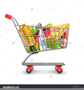 Supermarket Trolley Clipart | Free Images at Clker.com ... vector freeuse download