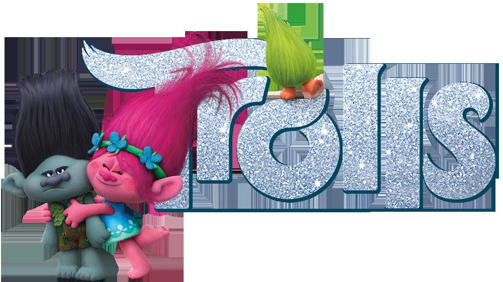 Trolls flower clipart vector library stock Trolls | Movie fanart | fanart.tv vector library stock