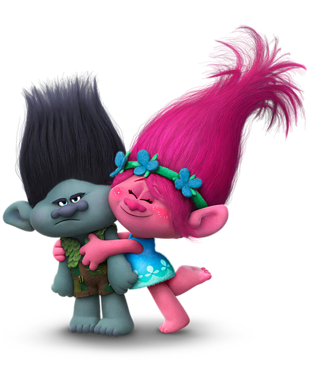 Trolls flower clipart free download Trolls Branch and Poppy Transparent PNG Image | Gallery ... free download