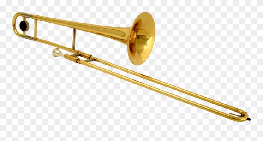 Trombones clipart image download Brass Instruments Trombone Clipart (#4477406) - PinClipart image download