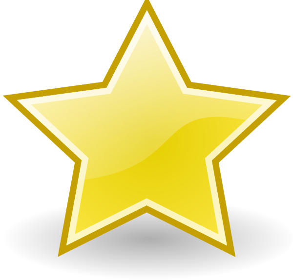Rocket Emblem Star Clip Art at Clker.com - vector clip art ... vector transparent