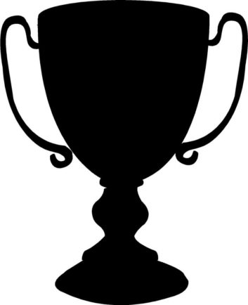 Trophy in shield clipart black free Trophy Clipart Black And White | Free download best Trophy ... free